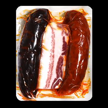 Compango - Morcilla, Bacon y Chorizo